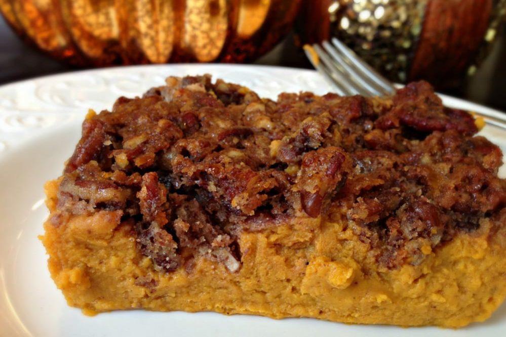 A Health Thanksgiving: Sweet Potato Casserole