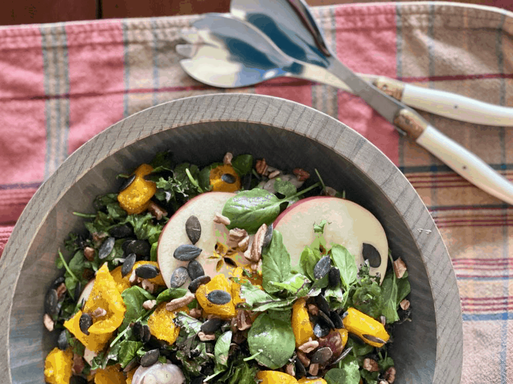 Simply October Salad