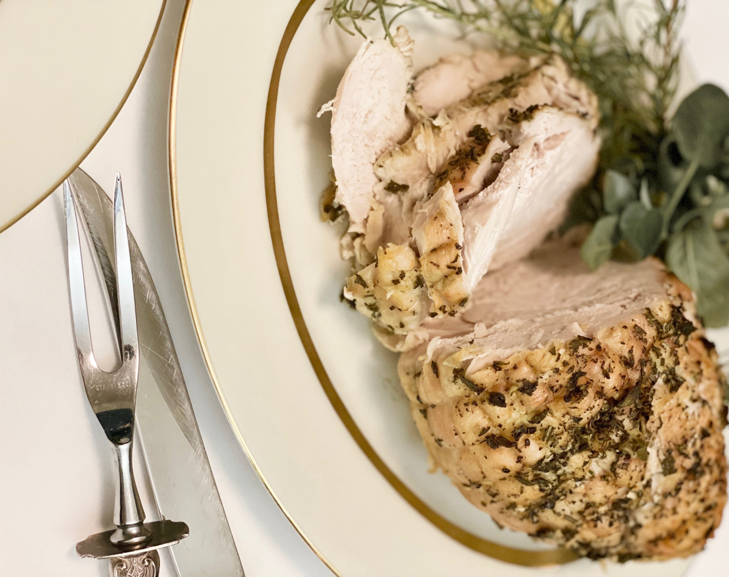 herbed turkey breast roast