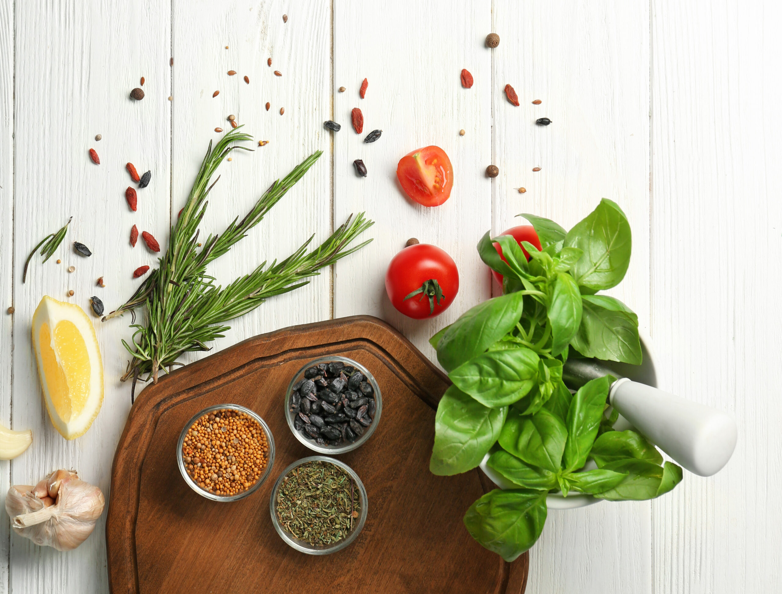 5 Herbs & Spices With Great Health Benefits